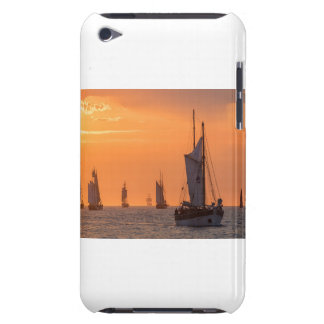 Windjammer in sunset light iPod touch cases