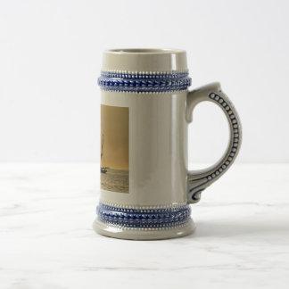 Windjammer on the Baltic Sea Beer Stein