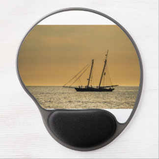 Windjammer on the Baltic Sea Gel Mouse Pad