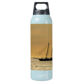 Windjammer on the Baltic Sea Insulated Water Bottle