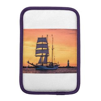 Windjammer on the Baltic Sea iPad Mini Sleeve