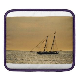 Windjammer on the Baltic Sea iPad Sleeve