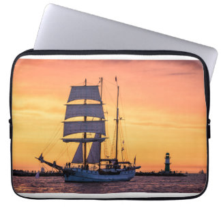 Windjammer on the Baltic Sea Laptop Sleeve