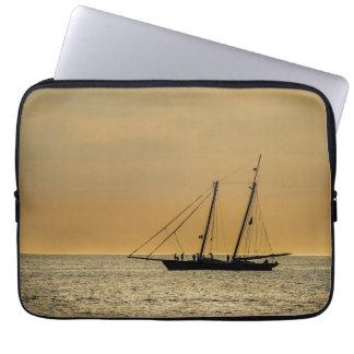 Windjammer on the Baltic Sea Laptop Sleeve