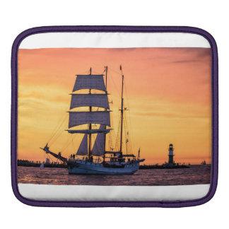 Windjammer on the Baltic Sea Sleeve For iPads