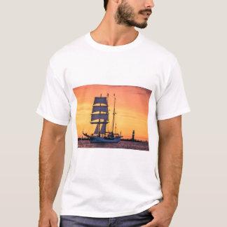 Windjammer on the Baltic Sea T-Shirt