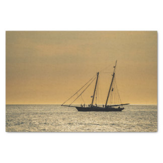 Windjammer on the Baltic Sea Tissue Paper