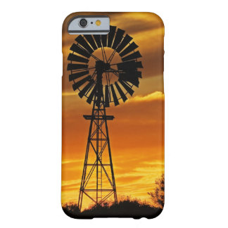 Windmill and Sunset, William Creek, Oodnadatta Barely There iPhone 6 Case