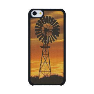 Windmill and Sunset, William Creek, Oodnadatta Maple iPhone 5C Case