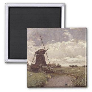Windmill at Leidschendam Magnet