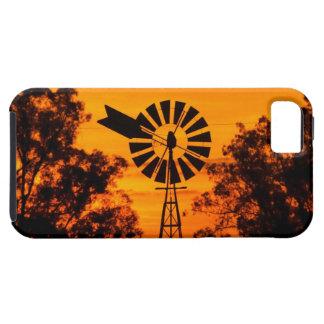 Windmill at Sunset, Australia iPhone 5 Case