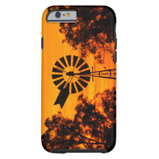 Windmill at Sunset, Australia Tough iPhone 6 Case