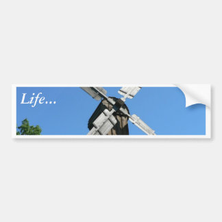 Windmill Bumper Sticker