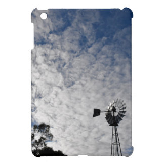 WINDMILL & CLOUDY  SKY QUEENSLAND AUSTRALIA COVER FOR THE iPad MINI