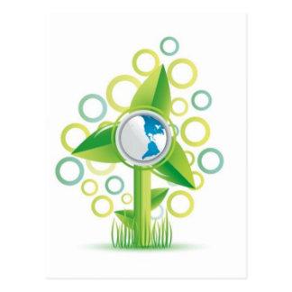 WindMill Earth Postcard