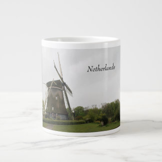 Windmill, Holland, Netherlands, Amsterdam, Dutch Large Coffee Mug