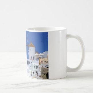 Windmill in Oia, Santorini, Greece Coffee Mug