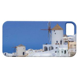 Windmill in Oia, Santorini, Greece iPhone 5 Cover