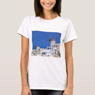 Windmill in Oia, Santorini, Greece T-Shirt