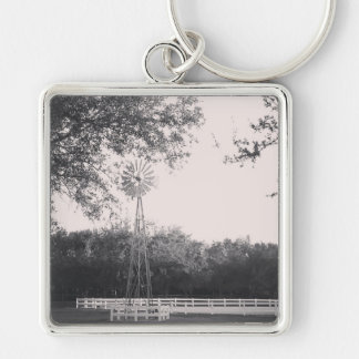 Windmill in the Country Key Ring