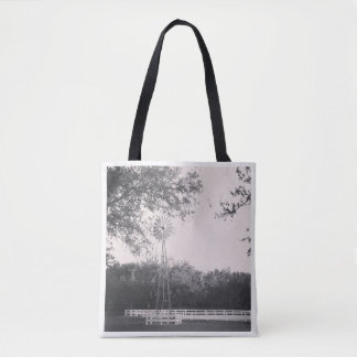 Windmill in the Country Tote Bag