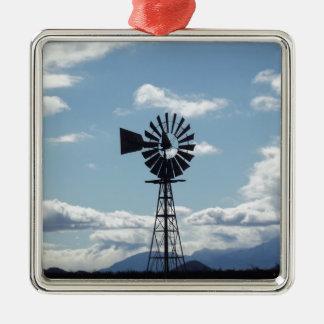 Windmill Metal Ornament