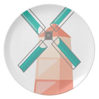 Windmill Plates