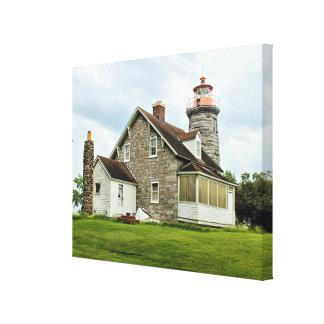 Windmill Point Lighthouse Canvas Print