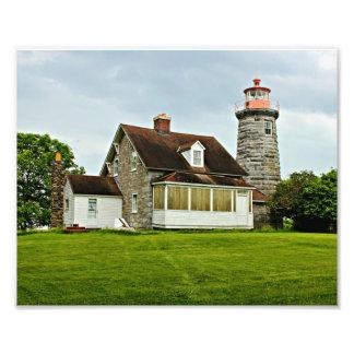Windmill Point Lighthouse, Lake Champlain VT Photo
