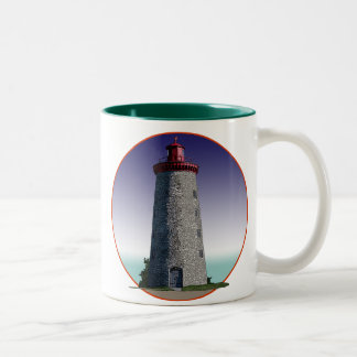 Windmill Point Lighthouse Two-Tone Mug