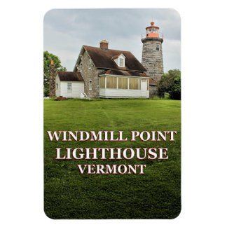 Windmill Point Lighthouse, Vermont Flexi Magnet