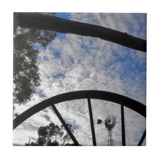 WINDMILL QUEENSLAND AUSTRALIA TILE