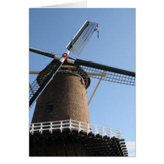 "Windmill ""Rijn en Lek"", Wijk bij Duurstede Greeting Card"
