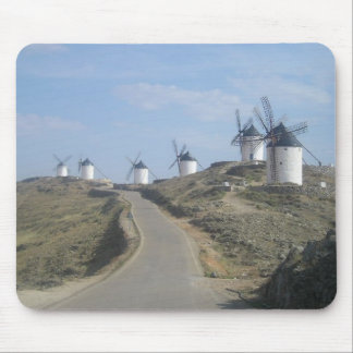 Windmill Road Mouse Pad
