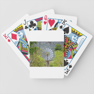 WINDMILL RURAL QUEENSLAND AUSTRALIA BICYCLE PLAYING CARDS