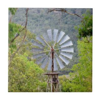 WINDMILL RURAL QUEENSLAND AUSTRALIA TILE