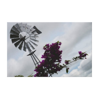 WINDMILL SOUTHERN CROSS RURAL QUEENSLAND AUSTRALIA STRETCHED CANVAS PRINTS