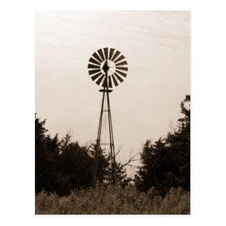 Windmill, Viersen Ranch Postcard