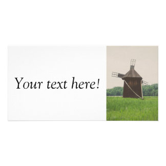 Windmill, Village Museum,Sibiu Photo Card