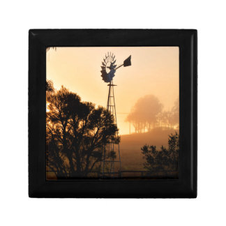 WINDMILL WITH ART EFFECTS QUEENSLAND AUSTRALIA GIFT BOX