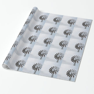 Windmill Wrapping Paper