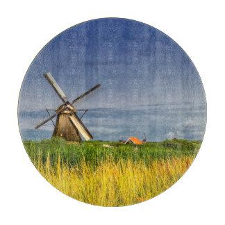 Windmills in Kinderdijk, Holland, Netherlands Cutting Board