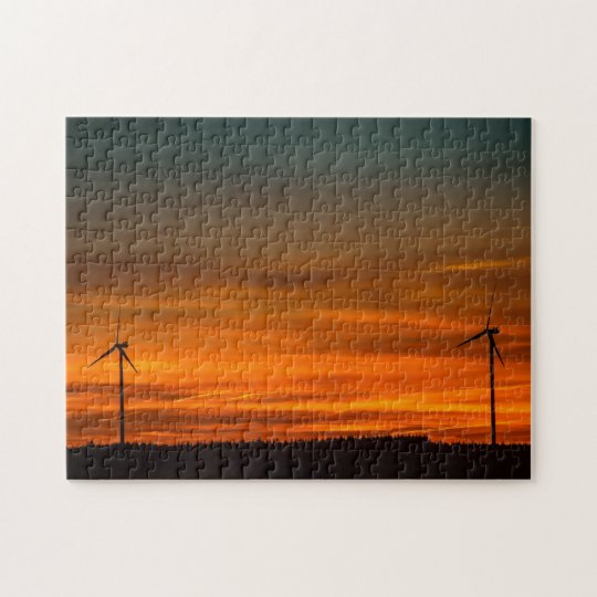 Windmills in the Distance Jigsaw Puzzle