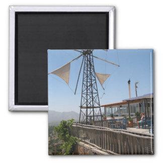 Windmills of Crete Magnet
