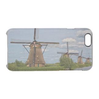 windmills of Kinderdijk world heritage site Clear iPhone 6/6S Case