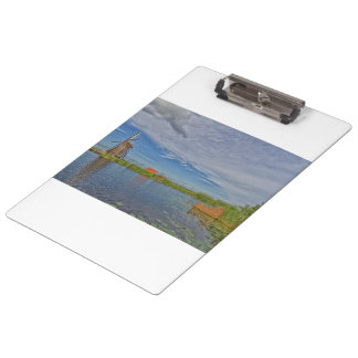 windmills of Kinderdijk world heritage site Clipboard