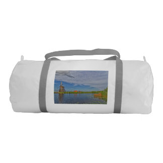 windmills of Kinderdijk world heritage site Gym Bag