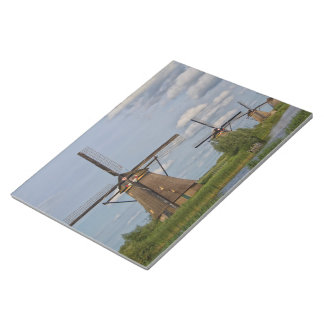 windmills of Kinderdijk world heritage site Notepad