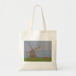windmills of Kinderdijk world heritage site Tote Bag