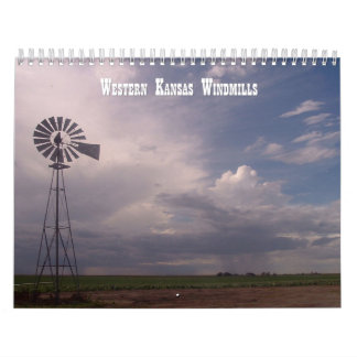 Windmills of Western Kansas Calendars